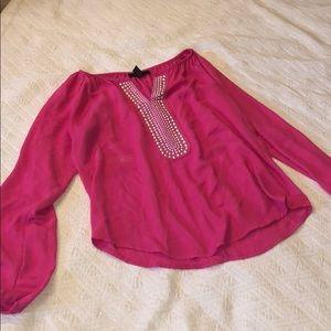 Pink Alfani Blouse